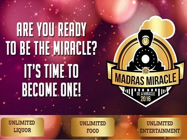 MADRAS MIRACLE 2016